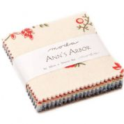 "Ann's Arbor - Mini Charm by Minick & Simpson for Moda Fabrics - 42 x 2.5"" fabric squares"